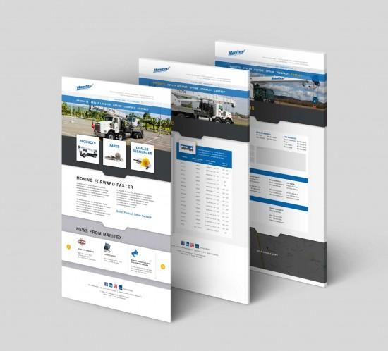 Graphic Engine Design Website